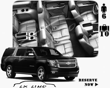 SUV Suburban for hire in Detroit