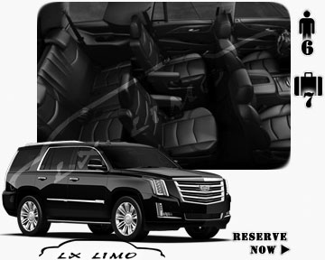 SUV Escalade for hire in Detroit, MI