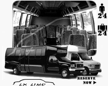Mini bus for hire in Detroit MI