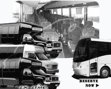 Detroit Bus rental 36 passenger
